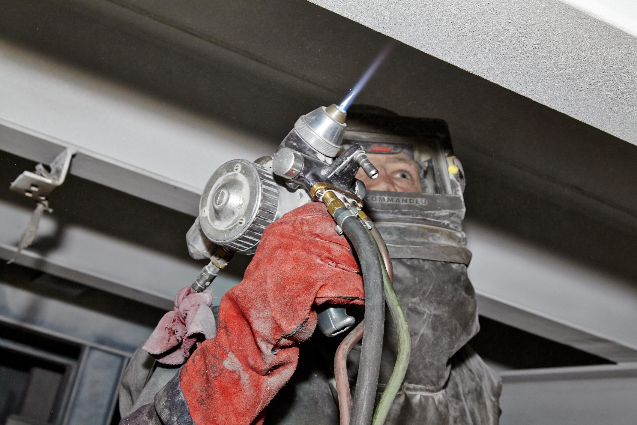 Barrier Metal Spraying